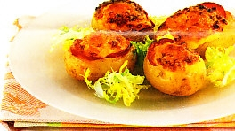Patatas soufflé