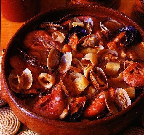 Patatas y zanahorias a la marinera