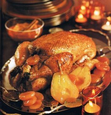 Pato con peras