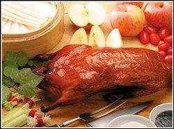 Pato lacado a la pekinesa