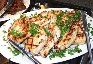 Pechugas de pollo a la plancha