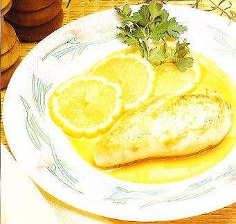 Pechugas de pollo al limón