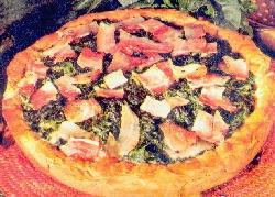 Pizza de acelgas