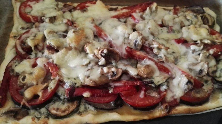 Pizza de hortalizas
