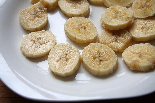Plátano y coco