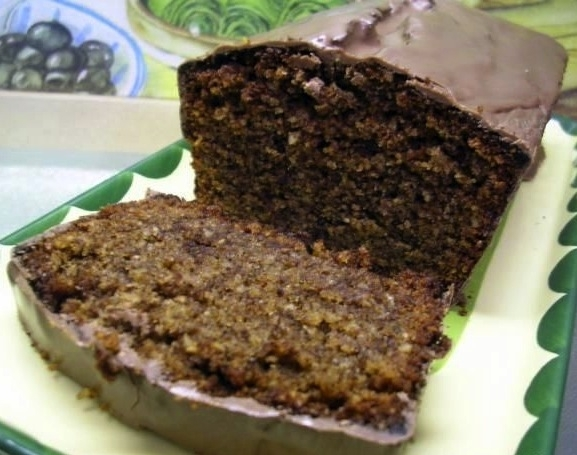 Plum-cake de chocolate y nueces