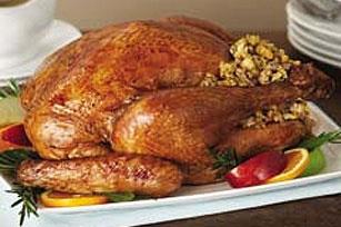 Pollo campero relleno de setas