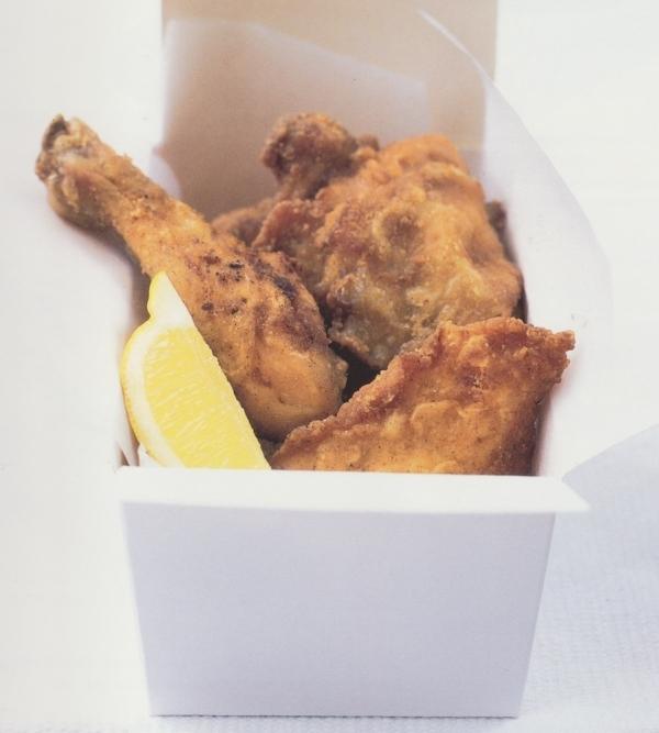 Pollo frito al estilo del sur