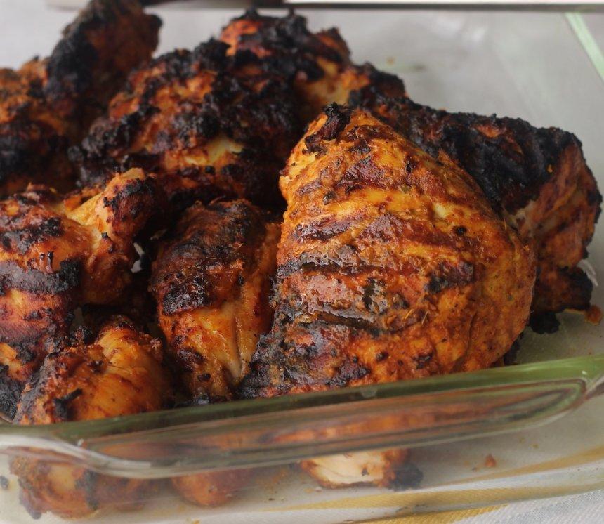 Pollo tandoori a la plancha