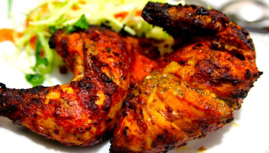 Pollo tandoori hindú