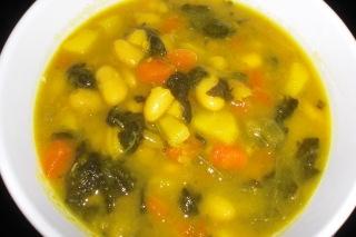 Potaje de hortalizas y alubias