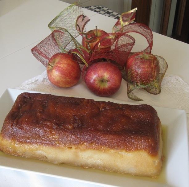 Puding de manzana