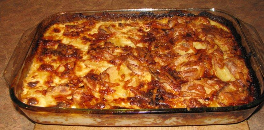 Puré de patatas al horno