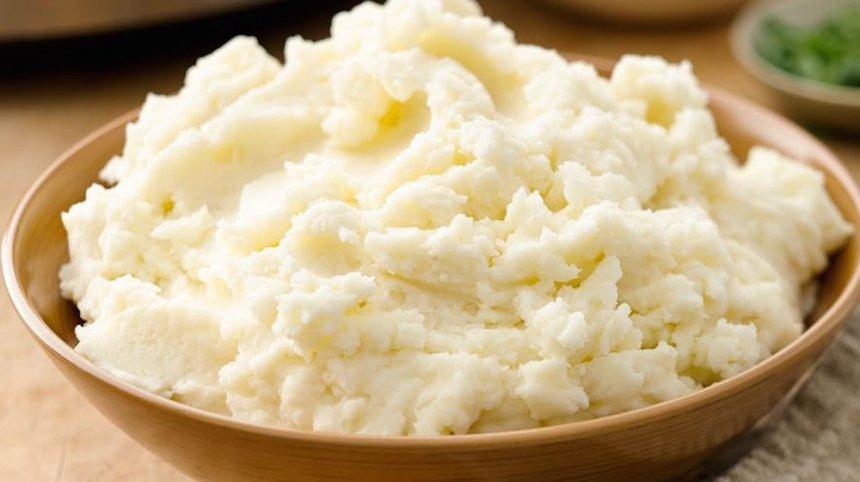 Puré de patatas y huevo
