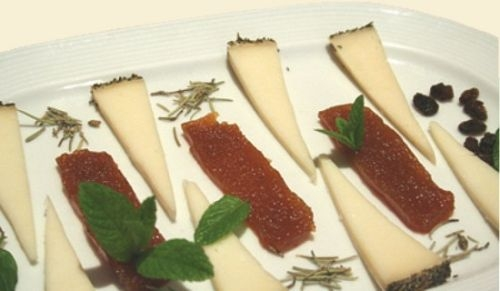 Queso manchego con membrillo