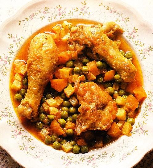 Ragoût de pollo