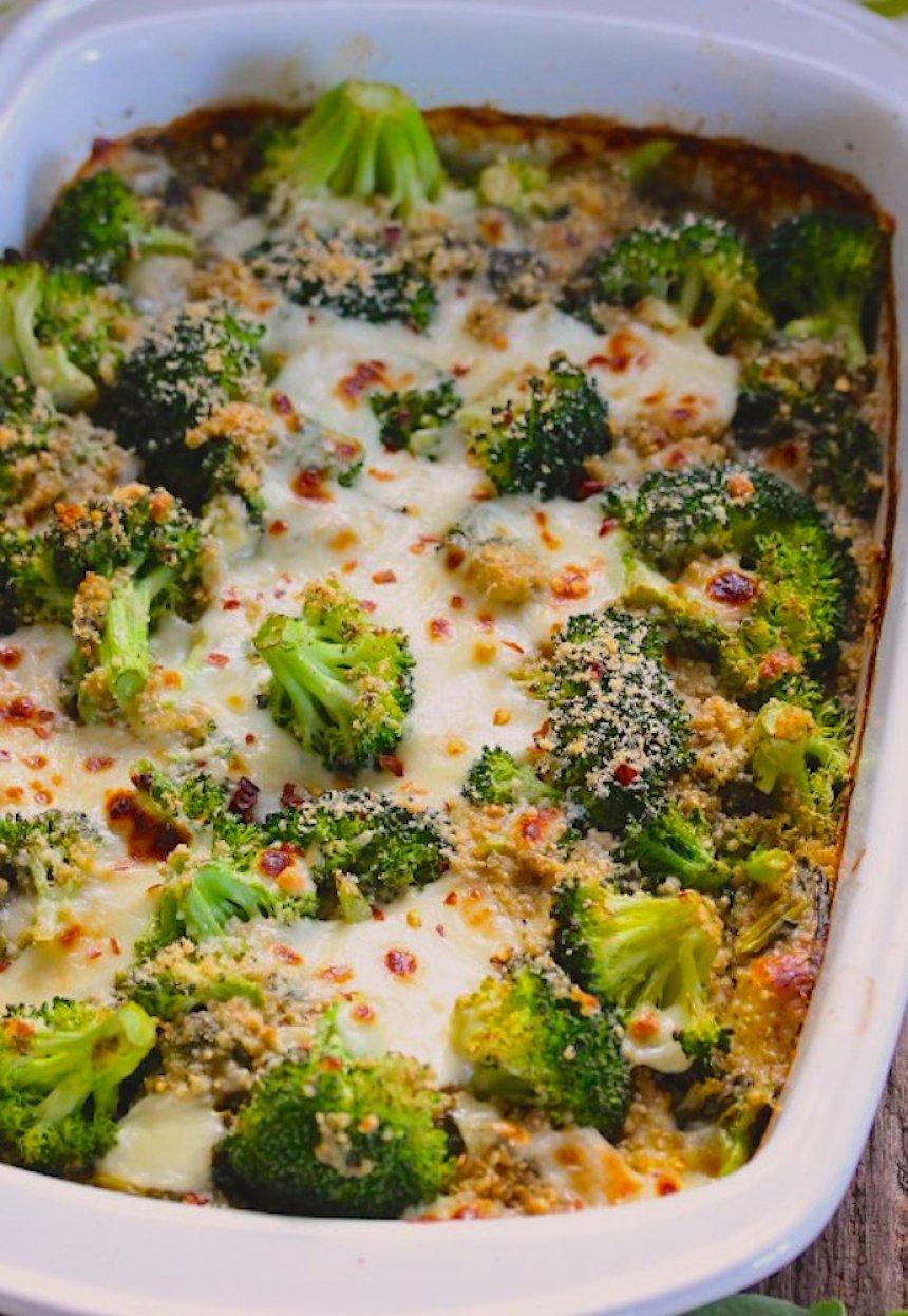 Risotto de quinoa y brócoli