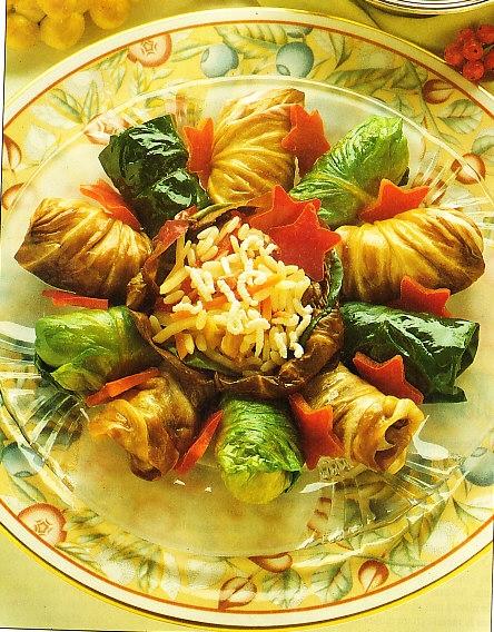 Rollitos de verdura