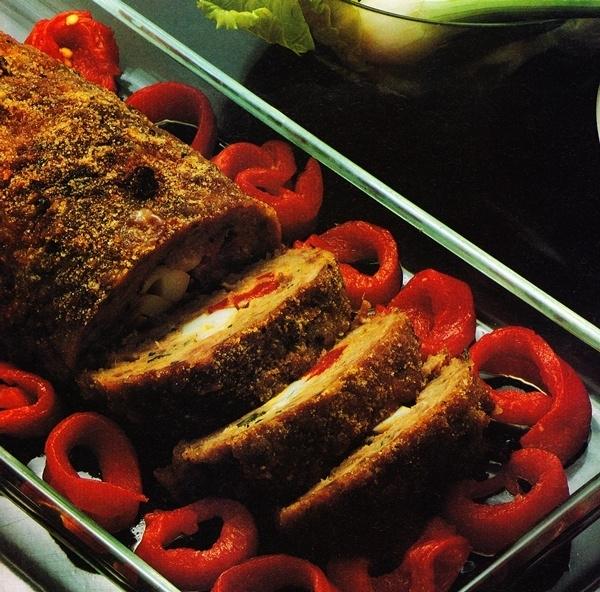 Rollo de carne a la siciliana