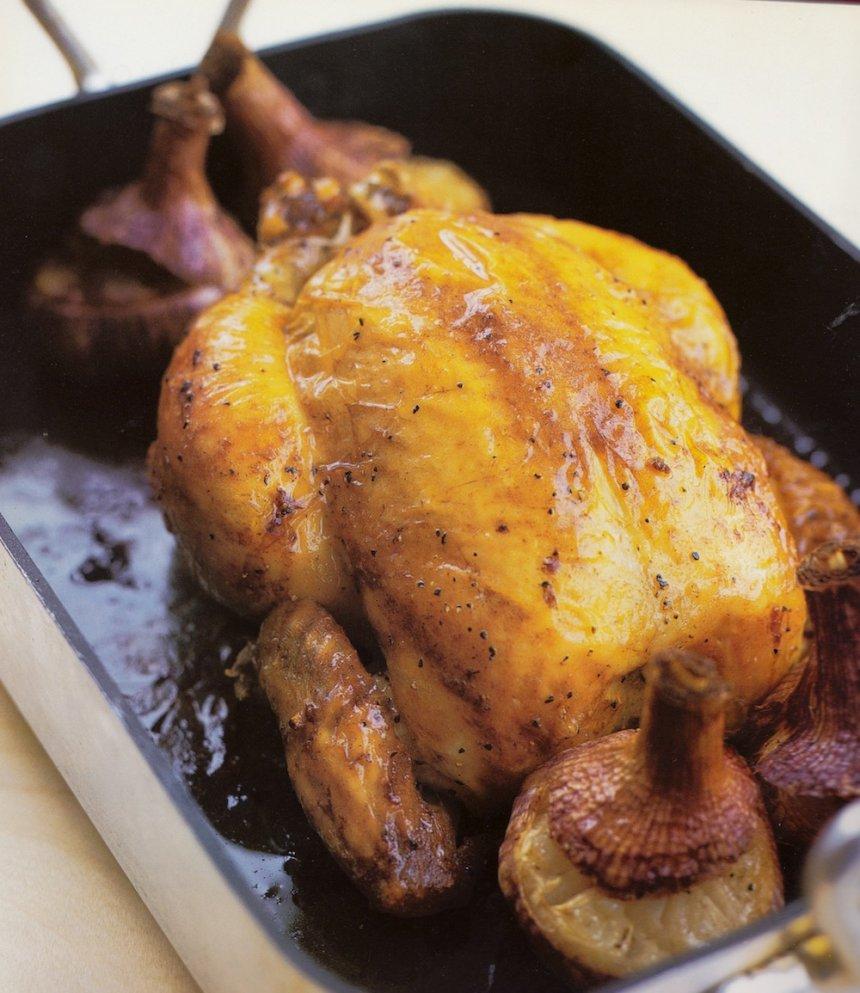 Rustido de pollo francés