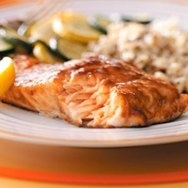 Salmon con naranja y vodka