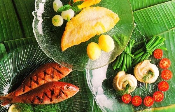 Salmonetes, dorada y lenguado