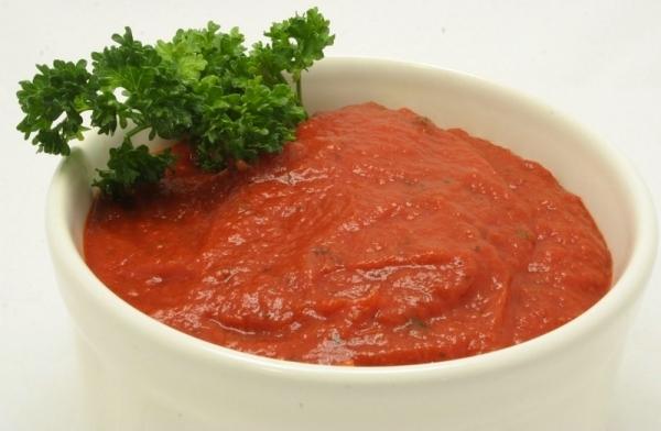 Salsa de tomate con cítricos