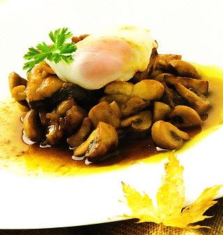 Salteado de pollo y verduras con huevo