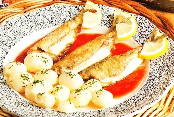 Sardinas rellenas de queso fresco