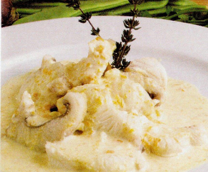 Sopa blanca provenzal