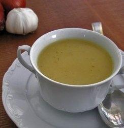 Sopa de ajos al estilo francés