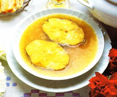 Sopa de pescado gaditana