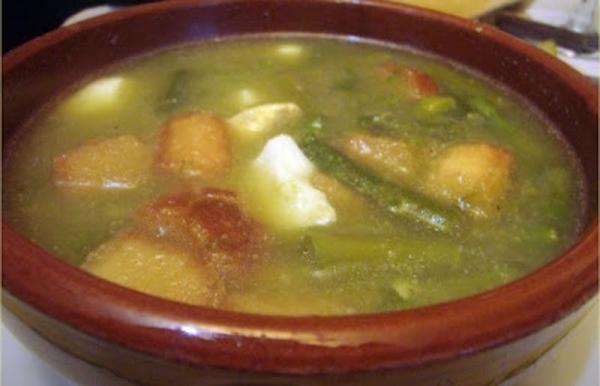 Sopa de trigueros