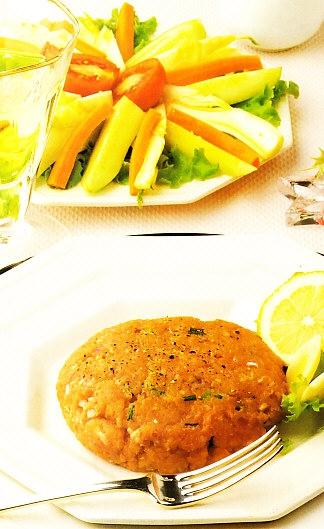 Steak tartar de salmón