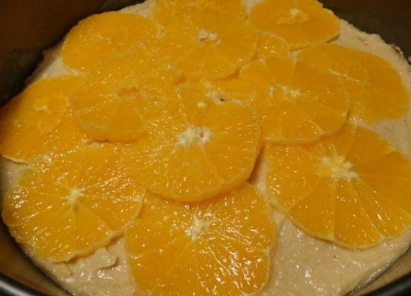 Tarta a la naranja