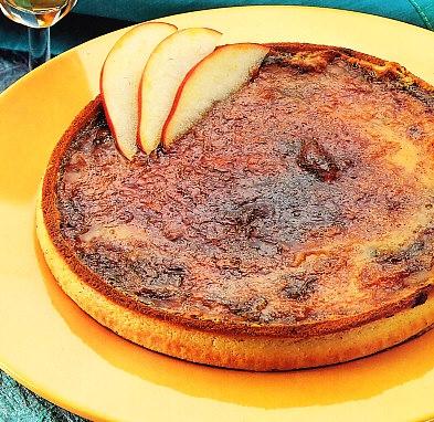 Tarta de manzana a la crema