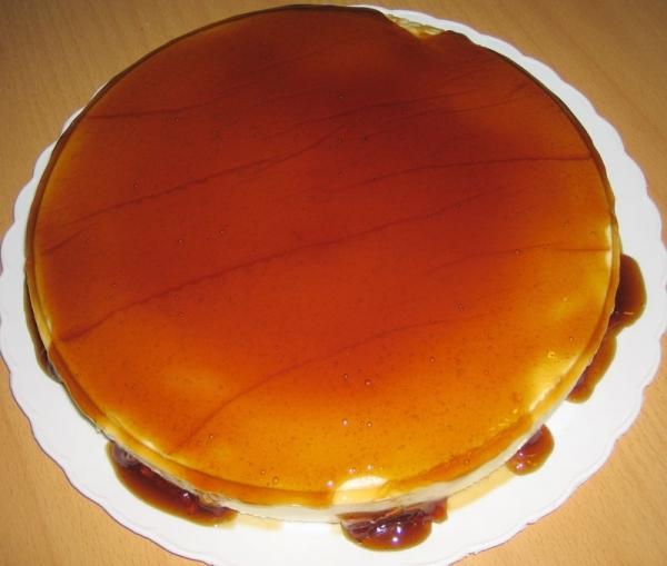 Tarta de orujo gallega