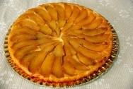 Tarta glaseada de manzana