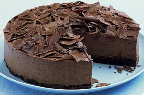 Resultado de imagen de tarta helada de chocolate