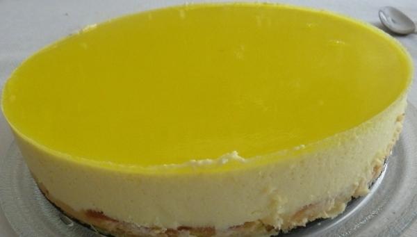 Tarta rápida de limón