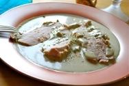 Ternera asada con salsa de atún