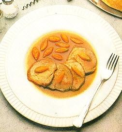 Ternera con zanahorias