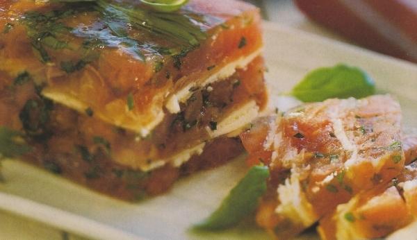 Terrina de tomate a la parmesana