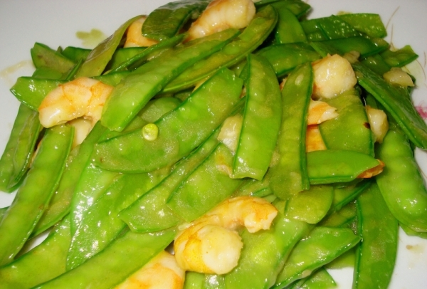 Tirabeques fritos