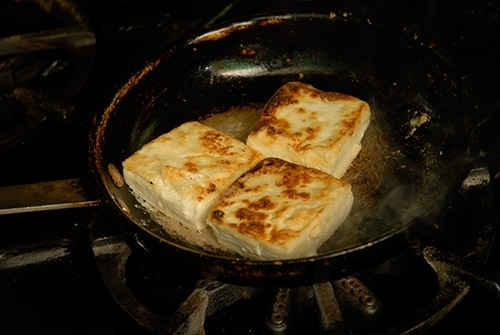 Tofu braseado
