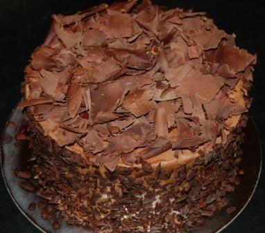 Torta suiza al chocolate
