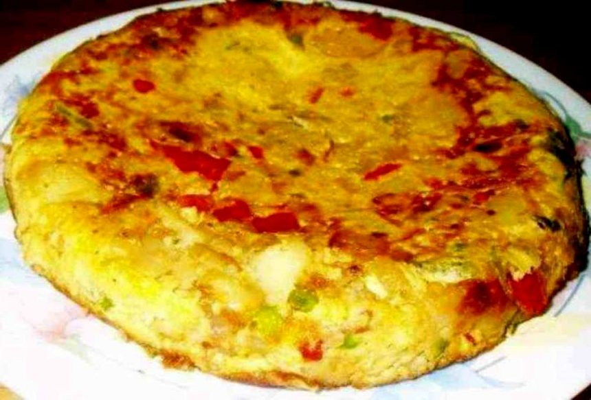 Tortilla de Sacromonte original