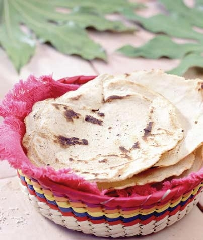 Tortillas calientes