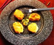 Tortitas de alubias (Falafel )