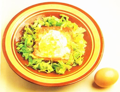 Tostadas con huevos